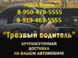 Логотип ТРЕЗВЫЙ ВОДИТЕЛЬ, ООО