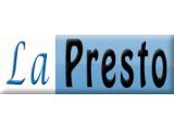 Логотип LaPresto - химчистка ковров и мягкой мебели