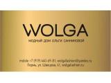 Логотип Авторское ателье Ольги Санниковой, дом моды WOLGA